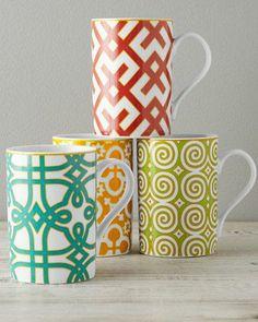 Graphic Portico Mug Set