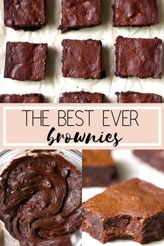Best Ever Homemade Brownies (VIDEO) Best Ever Homemade Brownies (VIDEO),Decadent Desserts A delicious old fashioned brownie recipe! The espresso powder/ instant coffee granules is optional but really enhances the flavor of chocolate in these. Cake Recipes From Scratch, Easy Cake Recipes, Healthy Dessert Recipes, Baking Recipes, Chewy Brownies, Homemade Brownies, Homemade Frosting, Best Brownie Recipe, Brownie Recipes