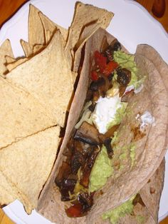 Kitchen Sink Diaries: Portabella Mushroom Tacos