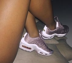 Plum AirMax TN's (Plus Satin)