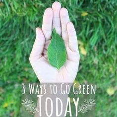 Being green isn't about being perfect. It's about trying to do a little bit better every day. Here are three simple things you can do to get started! Sustainable Design, Sustainable Living, Green Living Tips, Recycling Center, Room To Grow, Simple Things, Go Green, Mother Earth, Trees To Plant
