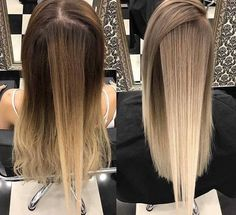 Farben Colours Related posts: 33 blonde or caramel-colored ideas for beautiful hair Top 8 Best Blonde Hair Colors 21 Popular hair colors and hairstyles for 53 hottest fall hair colors to try: trends, ideas and tips Dyed Blonde Hair, Blonde Hair Looks, Hair Color And Cut, Balayage Hair, Balayage Highlights, Gorgeous Hair, Pretty Hair, Hair Hacks, Hair Inspiration