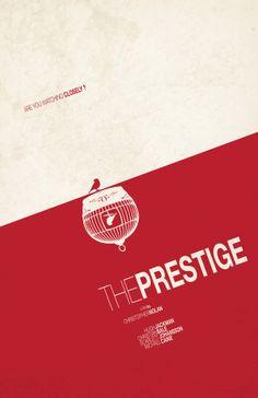 The Prestige (2006) ~ Minimal Movie Poster by Tom Kyle