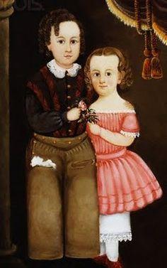 19th-century American Women: American Artist William Matthew Prior 1806-1873 (Prior-Hamblin School)