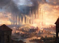 MtG Art: Paliano, the High City from Conspiracy Set by Adam Paquette | MTG ART - Art of Magic: the Gathering