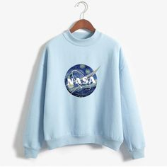 """NASA: STARRY NIGHT"" MOCKNECKS An interesting combination of impressionism and modern technology."