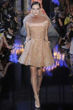 "ELIE SAAB Haute Couture fall/winter 2014-2015 collection ""palais des lumieres"""