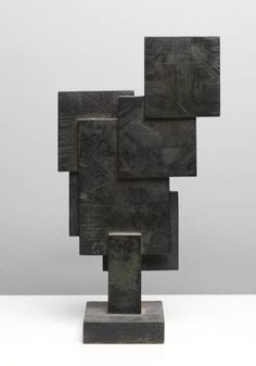 Artist Dame Barbara Hepworth 1903–1975 Title Square Forms Date 1962 Medium Bronze Dimensions Object: 343 x 190 x 89 mm Collection Tate
