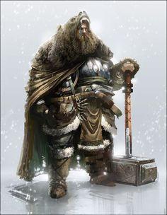 Dun Morogh Mountain Iron Hunter