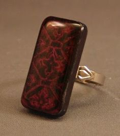 Ring made from a Dominoe