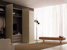 The Sigmund sofa by Enzo Mari, in a contemporary setting. Italian Life, Classic Italian, Enzo Mari, Tall Cabinet Storage, Sofa, Curtains, Contemporary, House, Furniture