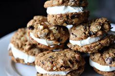 Oatmeal Cookie Moonpies