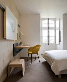 bedroom hotel design. Abbaye de Fontevraud by Patrick Jouin Pin Stefan Mojsov on For the Home  Pinterest Tv walls
