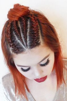 Lovely Hairstyles with Braids for Short Hair picture 3