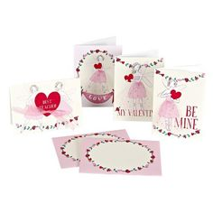 Fairy Fun Valentine Cards Meri Meri