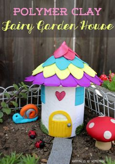 Polymer Clay Fairy Garden Houses