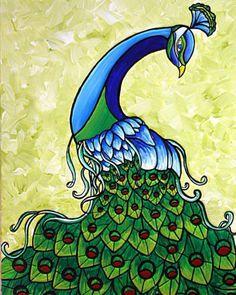 Love peacocks.  =)