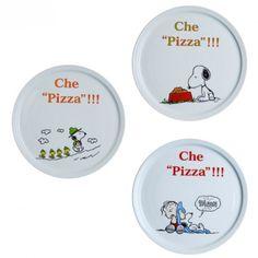 Piatto Pizza Snoopy