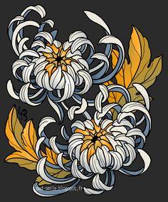 98 Meilleures Images Du Tableau Jack Mosher Tatoo Chrysanthemum