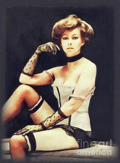 Jenny Agutter, Actress by John Springfield British Actresses, Hollywood Actresses, Actors & Actresses, Logan's Run, Sexy Older Women, Sexy Women, Star Trek Tv, Shannen Doherty, Emma Thompson