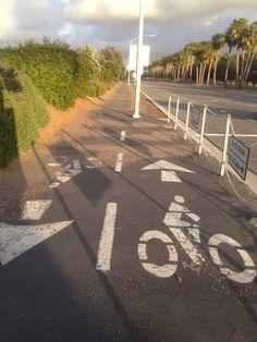 Bike lane FAIL.
