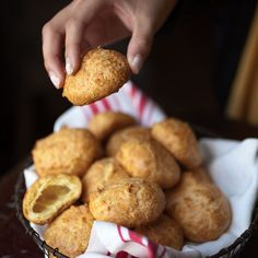 Gougeres (Cheese Puffs) Recipe - Saveur.com