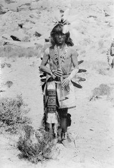 HOPI MAN , circa 1899
