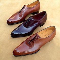 this-is-george-matthew: Gaziano & Girling:Bespoke & Benchmade Footwear Me Too Shoes, Men's Shoes, Shoe Boots, Dress Shoes, Shoes Sneakers, Shoes Men, Gentleman Shoes, Fashion Shoes, Mens Fashion