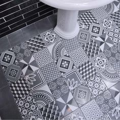 14.8x14.8cm Ted Baker Multi GeoTile    made by British Ceramic Tile. Buy now @ ceramicplanet.co.uk