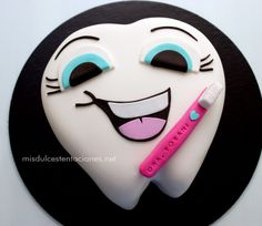 graduation cake for a dentist