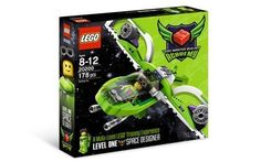 Includes 84page Designer Handbook that teaches 2 Master Builder techniques and instructions to create 3 models, one at time. * 1 exclusive LEGO MBA minifigure, a brick separator, and a brick storage box with sorting tray. * Minifigure accessories include a helmet with goggles, and a buildable jetpack. #lego