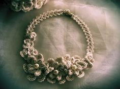 FATIMA CROCHET: crocheted necklace