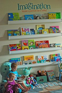 toy room book storage
