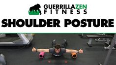 I have been playing around with some new thoughts on how to improve shoulder centration, posture, and muscular balance. How to Mobilize Joints: htt. Shoulder Posture, Foam Rolling, Bad Posture, New Thought, Physical Therapy, Perfect Body, Strength Training, Excercise, Physics