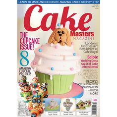 Our fabulous cupcake issue is OUT NOW get your copy here www.cakemasters.co.uk/shop - our front cover star is Lori's Sweet Cakes
