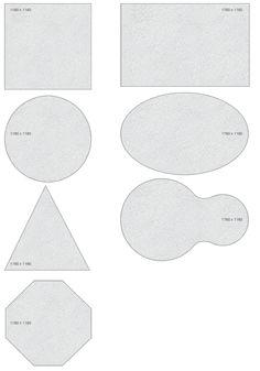 Dimensjoner - ROCKFON Norge - Akustiske systemhimlinger