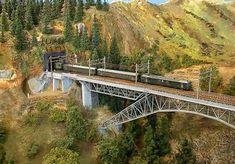 Model Train Scenery | nice scenery | model railroad