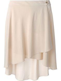 Shop Agnona asymmetric skirt in Torregrossa from the world's best independent… Asymmetrical Skirt, Layered Skirt, Online Shopping For Women, Ruffle Skirt, Skirt Pants, Sport Outfits, Ballet Skirt, Shirt Dress, Pencil Skirts