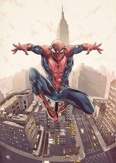 Spiderman by LudoDRodriguez on DeviantArt