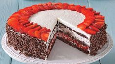 Torta z Čierneho lesa Cake Makers, Baked Goods, Tiramisu, Cheesecake, Birthdays, Pie, Baking, Ethnic Recipes, Food