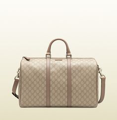 gg supreme canvas carry-on duffel bag