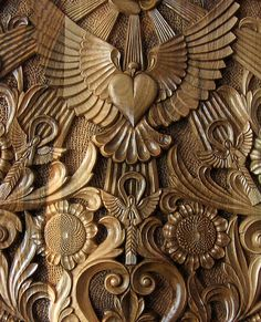 OOAK Rectangular hand carved wall panel , wood carving, to BE ORDERED, Bulgarian renaissance style via Etsy