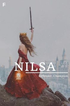 Nilsa meaning Defender Champion Scandinavian names N baby girl names N baby names female names whimsical baby names baby girl names traditional names names that start with N strong baby names unique baby names feminine names Country Baby Names, Southern Baby Names, Unusual Words, Rare Words, Scandinavian Names, Hispanic Baby Names, Female Character Names, Female Fantasy Names, Strong Baby Names