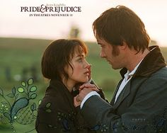 Yes, I liked this version of Pride and Prejudice.  I liked it a lot!  It had a lot of great things about it...and sorry, I think Matthew McFadyen is better looking than Colin Firth. *shrug*  I can't help it!
