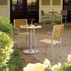 This bistro set is the perfect excuse to spend more time outdoors.