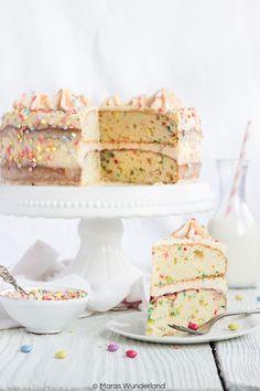 Ein Herz für Klassiker: Funfetti Cake | Maras Wunderland | Bloglovin'
