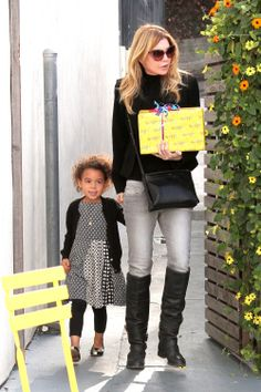 Ellen Pompeo & Her Party Girl with daughter Stella