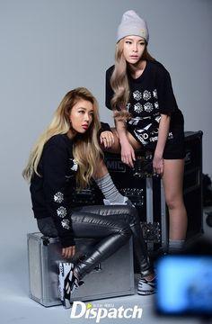 Yubin and Heize