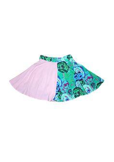 4 Panel Skirt – WND.LND Custom Fabric, Digital Prints, Ballet Skirt, Garden, Skirts, Fashion, Fingerprints, Moda, Garten