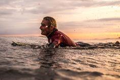 FUN WAVES MAKE FOR FUN TIMES. LEIF STOKED. PHOTO JAMES PARASCANDOLA